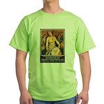 Women Power Poster Art Green T-Shirt