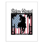 TEA Riders Wanted Small Poster
