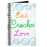 Eat Crochet Love Journal