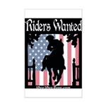 TEA Riders Wanted Mini Poster Print