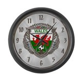 Wales Soccer Large Wall Clock