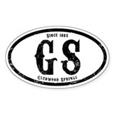 Glenwood Springs Decal