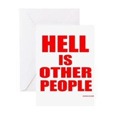 What is hell? Greeting Card