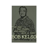 Bob Kelso Rectangle Magnet
