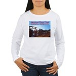 Japanese Deer Park Women's Long Sleeve T-Shirt