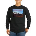 Japanese Deer Park Long Sleeve Dark T-Shirt