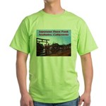 Japanese Deer Park Green T-Shirt