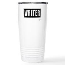 Writer Stainless Steel Travel Mug