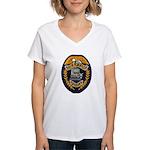 Grafton Police Women's V-Neck T-Shirt