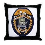 Grafton Police Throw Pillow