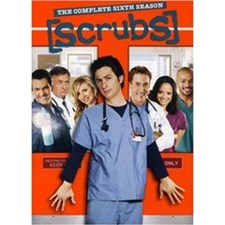 Scrubs: The Complete Sixth Season DVD