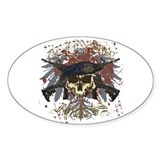 Security Forces Skull Urban I Decal