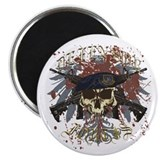 "Security Forces Skull Urban I 2.25"" Magnet (1"