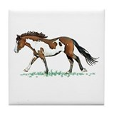 Lady Bay Paint Tile Coaster