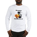 Halloween Black Cat Long Sleeve T-Shirt