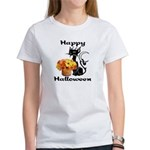 Halloween Black Cat Women's T-Shirt