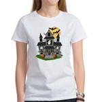Halloween Haunted House Ghosts Women's T-Shirt