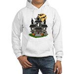 Halloween Haunted House Ghosts Hooded Sweatshirt