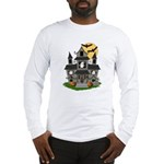 Halloween Haunted House Ghosts Long Sleeve T-Shirt