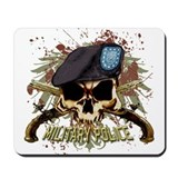 MP Skull Pistols Urban Color Mousepad