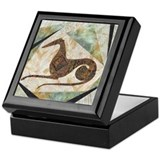 Tribal Greyhound Keepsake Box