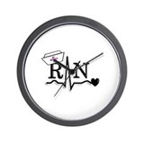 Funny Student nurse Wall Clock