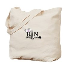 Cute Rn Tote Bag