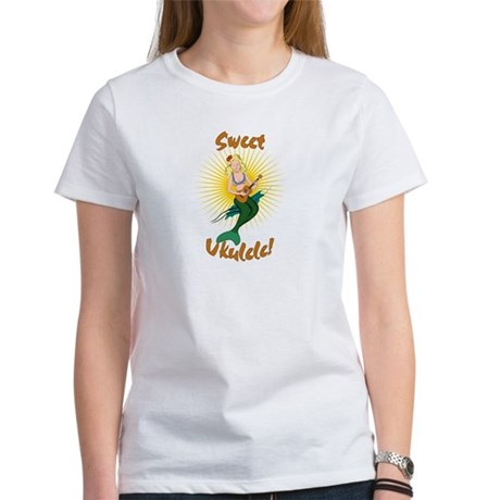Ukulele Mermaid Women's T-Shirt