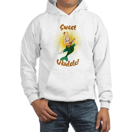 Ukulele Mermaid Hooded Sweatshirt