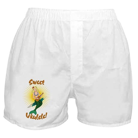 Ukulele Mermaid Boxer Shorts