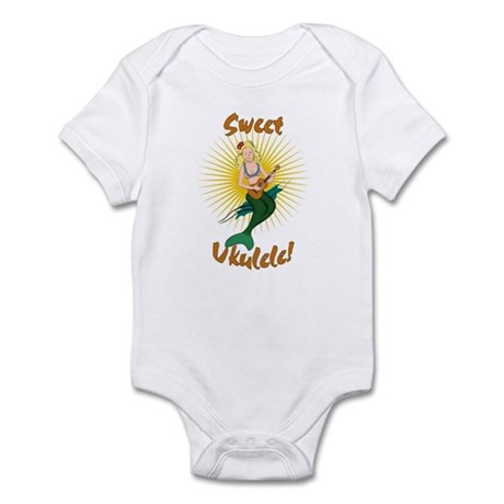 Ukulele Mermaid Infant Bodysuit