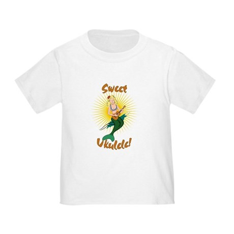 Ukulele Mermaid Toddler T-Shirt