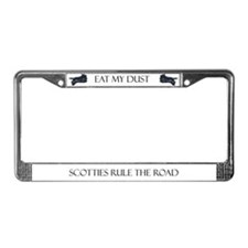 SCOTTIES RULE THE ROAD License Plate Frame License