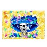 Funny Calaveras de azucar Postcards (Package of 8)