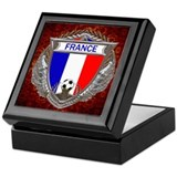French Soccer Keepsake Box
