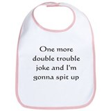 double trouble spit-up Bib