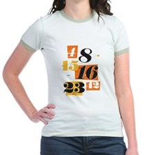 The Numbers Jr. Ringer T-Shirt