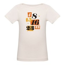 The Numbers Organic Baby T-Shirt