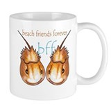 beach friends forever Small Mugs