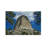 Unique Devils tower Rectangle Magnet (100 pack)