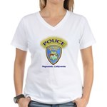 Hayward Police Women's V-Neck T-Shirt