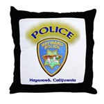 Hayward Police Throw Pillow