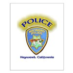 Hayward Police Small Poster