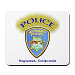 Hayward Police Mousepad