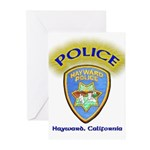 Hayward Police Greeting Cards (Pk of 10)
