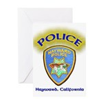 Hayward Police Greeting Card