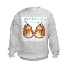 Horseshoe Crabs need love too Sweatshirt