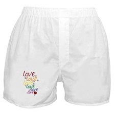 Love is Love (Gay Marriage) Boxer Shorts