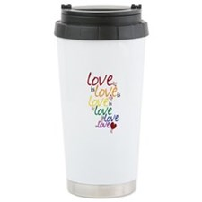 Love is Love (Gay Marriage) Ceramic Travel Mug
