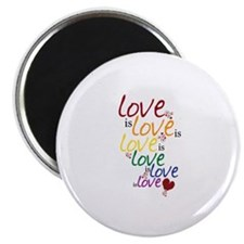 """Love is Love (Gay Marriage) 2.25"""" Magnet (100 pack"""